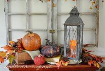 Fall Decorating....