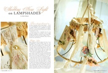 altered lampshades