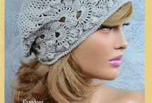 czapki szydełkowe