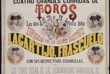 Design Taurino/Vintage Bullfight Design