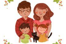 Family ilustration