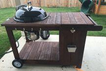 Wózek na grill