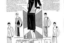 Fashion 1920's / Patterns I want to make