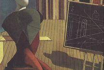 Pittura Metafysica ~ Giorgio de Chirico