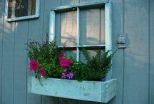 Régi ajtó ablak