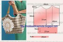 patrones de bolsos