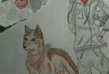 foxy's and lalla's drawings