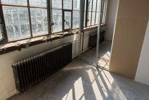 Werk in Uitvoering: Blue Collar Hotel, Strijp-S Eindhoven / Herbestemming zijvleugel Klokgebouw.