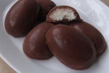 Chocolate Covered Coconut Eggs