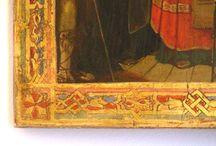 Intervento di restauro su Dipinto / In POLIGNUM oltre al restauro di mobili antichi e di modernariato eseguiamo anche restauro di dipinti su legno. Ecco un nostro lavoro