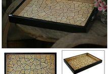 Munamosaiikki / Eggshell mosaic ideas