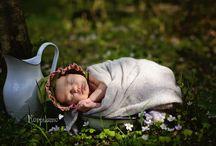 A Newborn / A newborn portrait