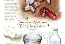 Custom recipe art