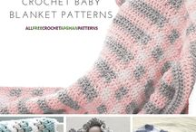 Crochet & Knit Blankets / Motifs, squares, stripes.  Full patterns for knit and crochet blankets.