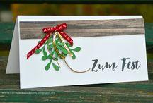 Weihnachtskarten Christmas cards