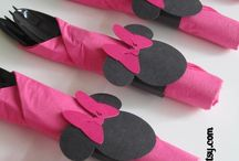 Minnie party stuff / by Roxanne Sowers