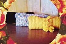 Estojo crochet