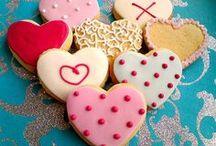 biscoitos decorados e