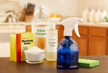 Household products used as cleaners