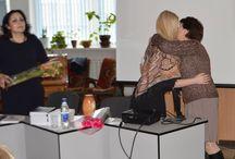 """Lansare de carte in Moldova, Ungheni (Natasa Alina Culea) / Lansarea cartilor """"Natasa, barbatii si psihanalistul"""" si """"Marat. Iubirea are spini"""" in Ungheni, Moldova.  -Invitata ca scriitoare, sa imi prezint cele doua carti."""