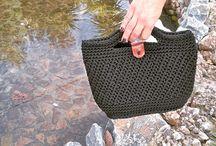 Crochet handbags