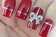 Xmas_nails!!