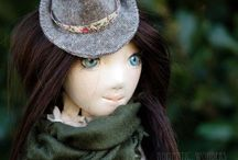 Emma / Handmade ooak doll by Romantic Wonders