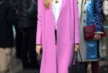 NOW: The pink coat / Right now I am craving a pink coat.