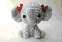 Cute Amigurumi Elephant Girl - FREE Crochet Pattern /