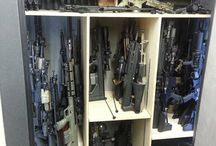 Gun Storage / Safes / Racks / by Jim Boyd