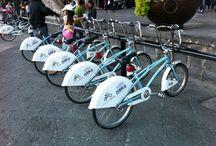 Services de vélo en libre partage / Des photos de services de vélo en libre partage à travers le monde.