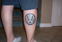 Tatted Up! VW tattoos / Would you ever get a tattoo of your VW or of VW?
