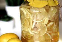 nalewka cytrynowa z miodem
