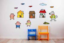 Vinilos infantiles / Vinilos infantiles para decorar paredes, puertas, muebles...http://www.stikets.com/vinilos/vinilos-infantiles.html