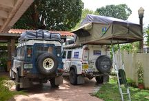 Land Rover kamperen