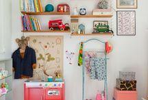 For the kids: rooms / Inspirasjon til kule barnerom