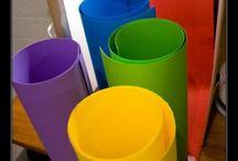 Cartulinas de Colores.
