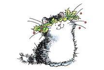 dibujo gatitos