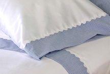 Fronhas e roupa de cama