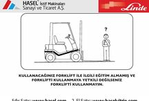 Dizel Forklift ve Elektrikli Forklift Genel Güvenlik Kuralları / Dizel Forklift ve Elektrikli Forklift Operatörlerinin Dikkat Etmesi Gereken Genel Güvenlik Kuralları. Önce İş Güvenliği!