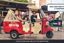 Budapest City tour with TukTuk / How we do a tour:)