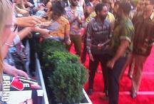 Bruno Mars n The Hooligans on red carpet Logies Award 2013