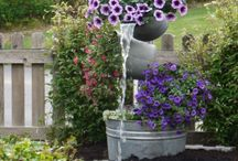 gardening ideas / by Connie Olmstead