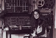 Synthesizers and Music.