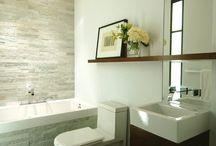 Badkamer - muur / vloer afwerking