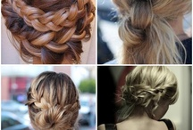 HAIR / Inspiration for hair cuts, hair color, braids, hair styleS, pony tails & more