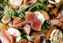 Saladas ...