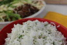 Rice Dishes / All animal ingredients can be replaced with vegan substitutions. / by Tate Bagwell