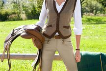 style ❈ the riding habit / riding outfits & clothing for stable to street and street to stable