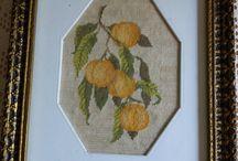 goblenul -pictura cu acul (colectie personala )